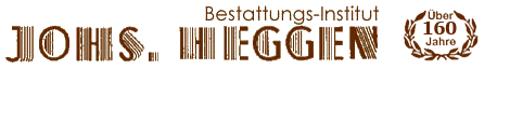 Bestattungs-Institut Johs. Heggen